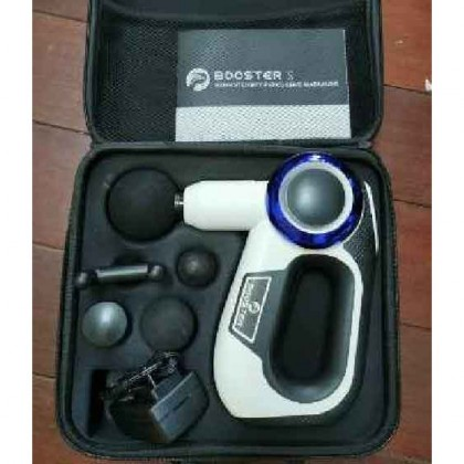 SOMAX STORE !! Booster New 24V Massage Gun Hypervolt Percussion Deep Tissue Muscle Exercise Bosster Relief Pain